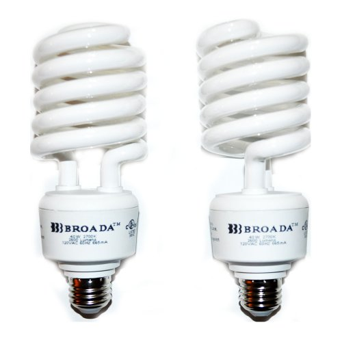 BROADA 40W Energy Saving warm white 150W Equivalent Compact Fluorescent Light Bulb (Warm White Cfl)