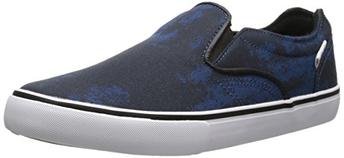 Dekline Men's CT Slip Skateboard Shoe, Navy/White, 7.5 M (Dekline White Shoes)