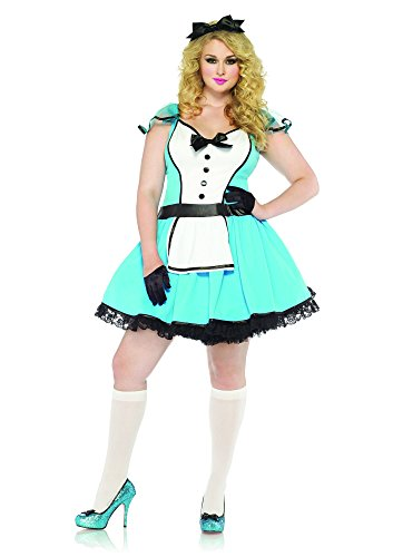 Storybook Alice Plus Size Costumes - Leg Avenue Women's Plus-Size 2 Piece