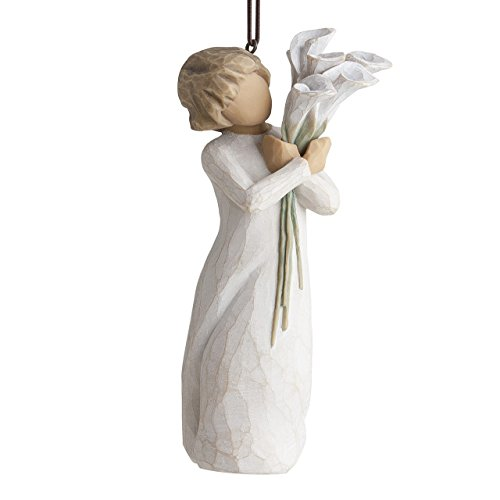 (Willow Tree hand-painted sculpted Ornament, Beautiful Wishes)