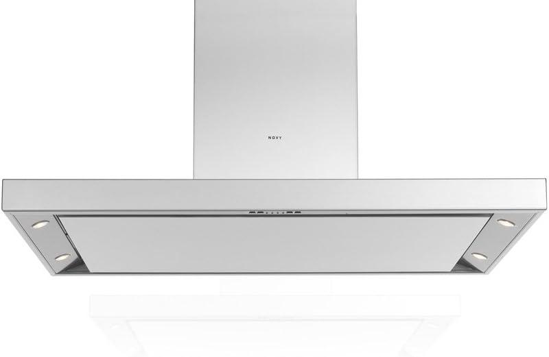 Novy Flatline 7660 - Campana extractora (120 cm, acero inoxidable): Amazon.es: Grandes electrodomésticos