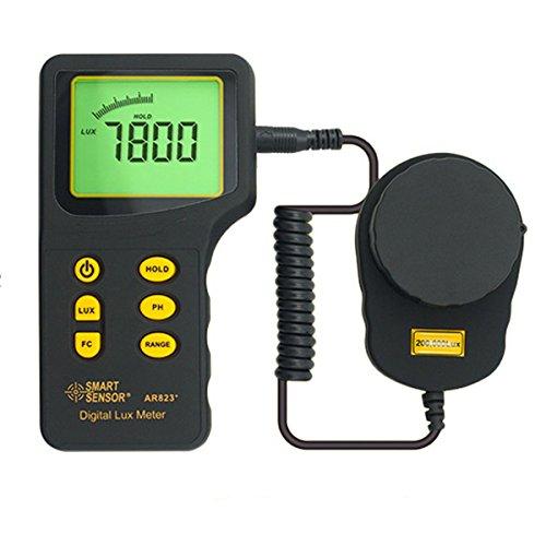 New SMART SENSOR AR823+ Digital illuminometer Brightness Detector Light Meter