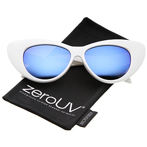 zerouv-womens-iridescent-mirror-lens-exaggerated-cat-eye-sunglasses-51mm-white-blue-mirror