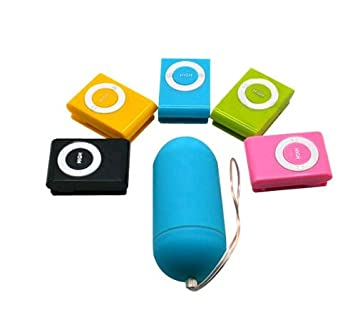 457d6d143 Image Unavailable. Image not available for. Color  Colorful Portable  Wireless Waterproof Mp3 Vibrators ...