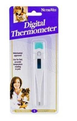 Pet Nutri-Vet Digital Thermometer, digital thermometer accuracy, digital ear thermometer, thermometer Supply Store/Shop