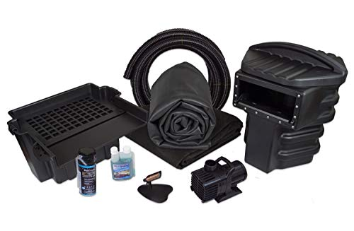- Simply Ponds 4000 Water Garden and Pond Kit with 20 Foot x 25 Foot EPDM Liner