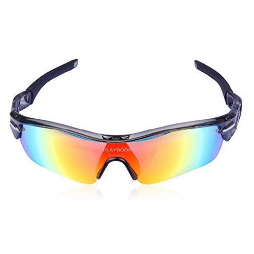 Gafas Hombre LBY para Gafas Color Gray Gafas Negro Sol Bicicletas para de Deportivas Al Libre Polarizadas Aire gSWzgpqB