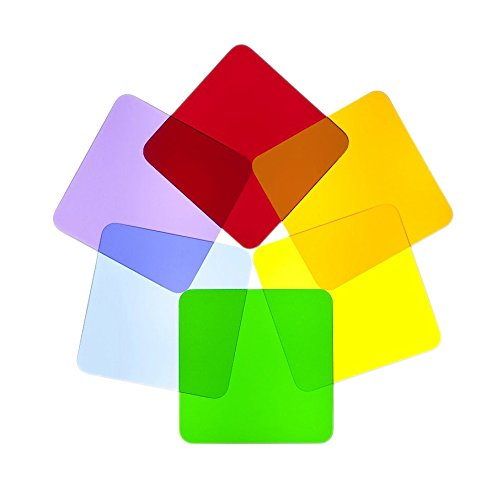 Whitney Brothers Color Wheel Squares-Set of 6 Childrens Wall Decor