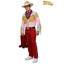 Fun Costumes mens Back to the Future Cowboy Marty Costume