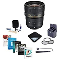 Nikon AF-S 18-35mm f/3.5-4.5G ED Lens, USA Warranty - Bundle with 77mm Filters & Pro Software