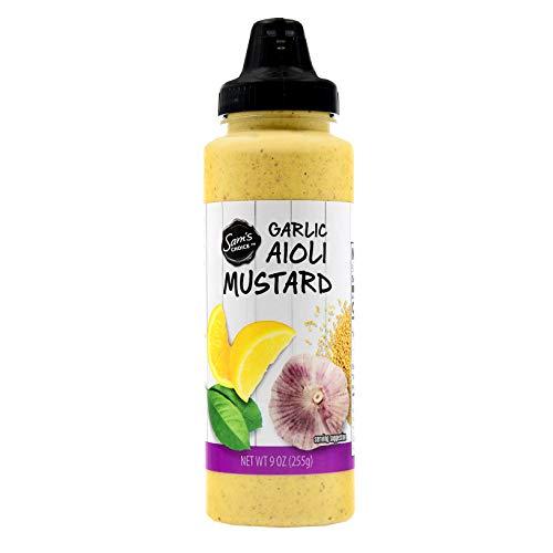 Garlic Aioli Mustard, 9 oz - Mustard Creamy Sauce