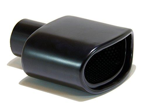GENSSI Muffler Tip Exhaust Tail Pipe Black (ID: 2.25