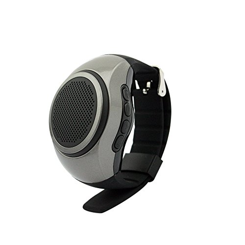 SVPRO Portable Wireless Bluetooth Speaker Watch,Multi-functional Bracelet with MP3 Music Player,Hands-free call,Radio,Self-timer,Supporting USB,TF Card Taking Photoes