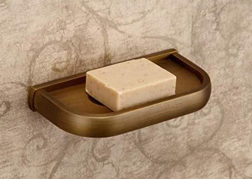 KIEYY El Juego De Baño Baño Baño De Cobre Antiguo Incluye Estante De Baño, Soporte De Papel, Plato De Jabón, Accesorio De Baño, Soporte De Jabón 727446
