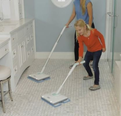 Nellie's All-Natural Wow Mop- Cordless, Light-Weight and Rechargeable by Nellie's All-Natural (Image #4)