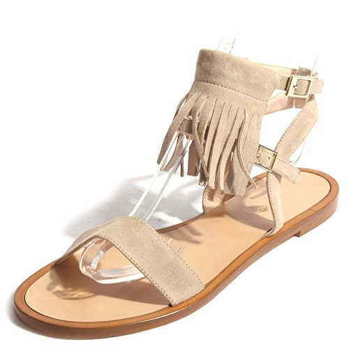 Frange Sandalo B0383 Shoe Beige Pennyblack Woman Donna Scarpa AFywqR8