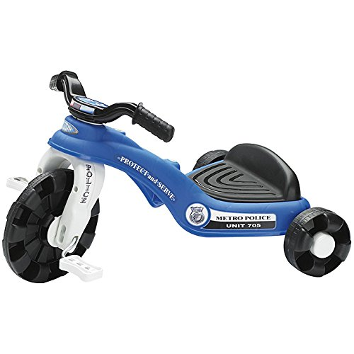 American Plastic Toys Police Cycle Trike (Plastic Tricycle)