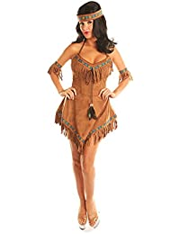 Women's Native American Indian Princess Costume Thankgiving Party Cospaly Suits