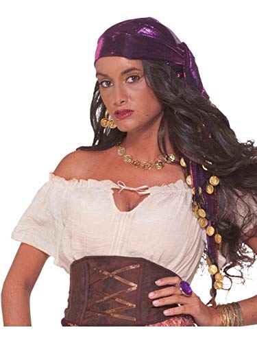 Forum Novelties Costume Accessory Mystic Fortune Teller Gypsy Scarf]()