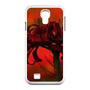 HEHEDE Phone Case Of Higanbana RED FLOWER for Samsung Galaxy S4 I9500