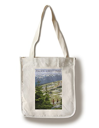 Pacific Crest Trail and Hikers (100% Cotton Tote Bag for sale  Delivered anywhere in USA