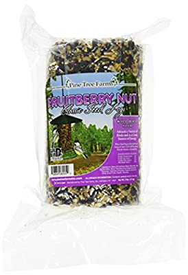 Pine Tree 8005 Fruit Berry Nut Classic Seed Log, 32-Ounce