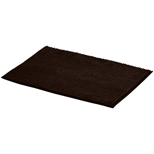 AmazonBasics Chenille Bath Mat - Pack of 2, Small, Brown (Bath Mats Ikea)