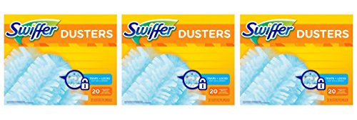 Swiffer 180 Dusters Refills Unscented pYDPFi, 3Pack (20 Count) by Procter & Gamble - Pampers