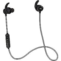 JBL Reflect Mini Bluetooth in-Ear Sport Headphones, Black