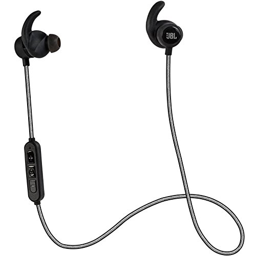 JBL Reflect Mini Bluetooth In-Ear Sport Headphones, Black