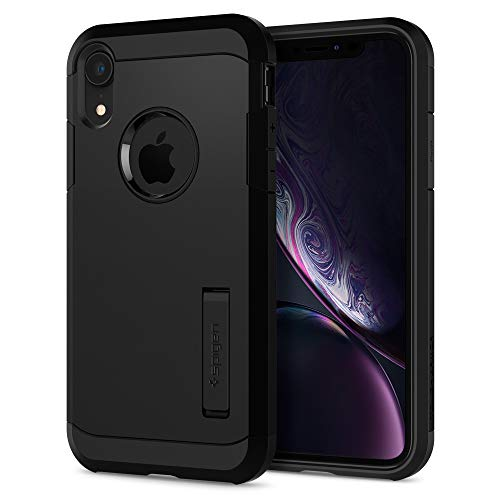 Spigen Tough Armor Designed for Apple iPhone XR Case (2018) - Black