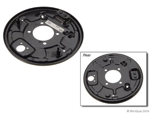 Bmw Brake Backing Plate - OES Genuine Brake Backing Plate for select BMW 320i models