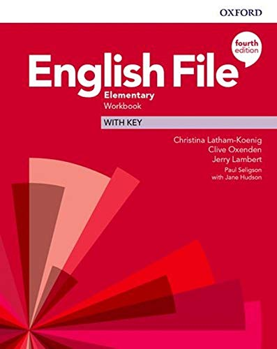 English File Elementary Workbook with Audio (4th Edition)