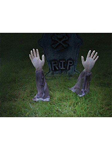 Forum Novelties Zombie Hands & Arms - (2) Zombie Lawn Stakes -