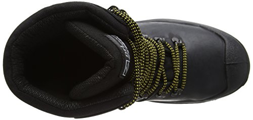 Hombre Cuero Negro De Calzado Protección Grisport Para xXqY1nf4