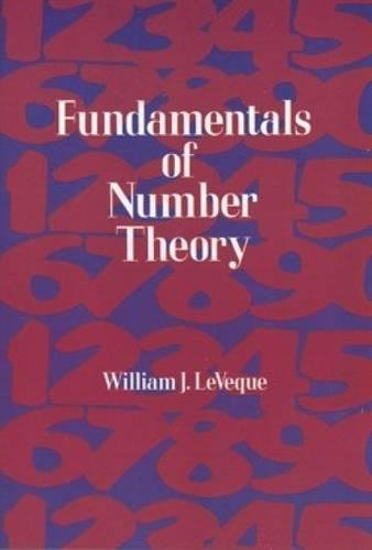 Fundamentals of Number Theory (Dover Books on Mathematics)