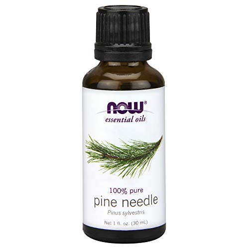 Now Essential Oils, Pine Needle Oil, Purifying Aromatherapy Scent, Steam Distilled, 100% Pure, Vegan, 1-Ounce (Scent Oil Pine)