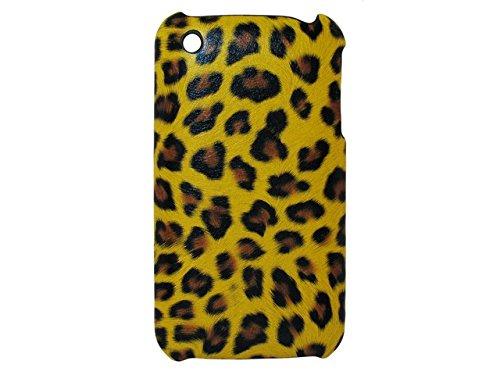 Telileo handywelt-niefern coque de protection pour iPhone 3–motif léopard jaune