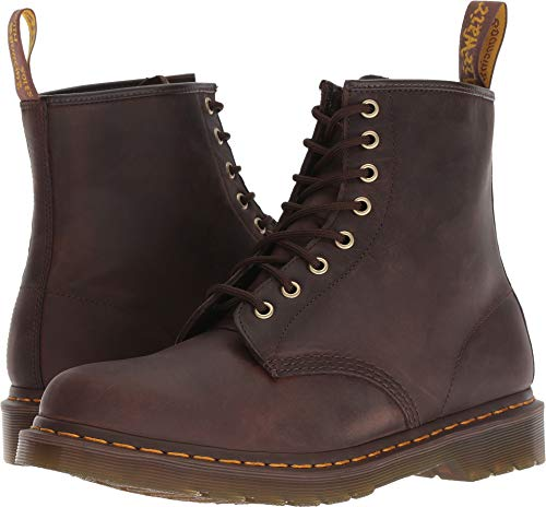 Dr. Martens - Mens 1460 8 Eye Boot, Size: 14 D(M) US / 13 F(M) UK, Color: Gaucho Crazy Horse