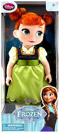 "Disney Frozen Anna Toddler Doll 15"" Girls"
