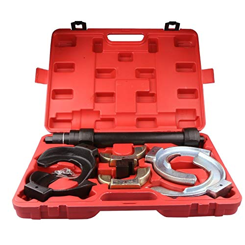 MOSTPLUS Macpherson Strut Spring Compressor Interchangeable Fork Coil Extractor Dump Tool Set ()