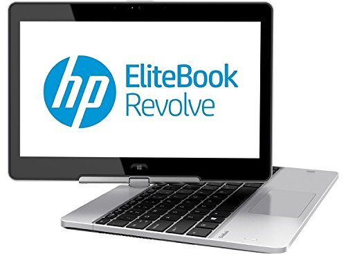 2017 HP EliteBook Revolve 810 11.6″ 2-In-1 Business Tablet Laptop Compputer, Intel Core i5-3437U 2.9GHz, 8GB RAM, 128GB SSD, Bluetooth 4.0, USB 3.0, Windows 10 Professional (Certified Refurbished)