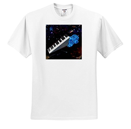 Price comparison product image 3dRose WouX – Brave Keyboardist - for Musicians who are not Afraid of Musical Challenges - T-Shirts - Youth T-Shirt Small(6-8) (ts_280095_12)