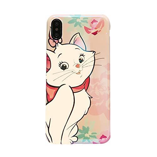 official photos 9d21e 76323 Amazon.com: Slim Soft TPU Marie Cat Case for iPhone XR iPhoneXR 6.1 ...