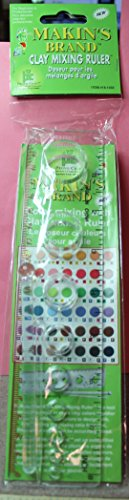Makin's Brand Clay Mixing Ruler