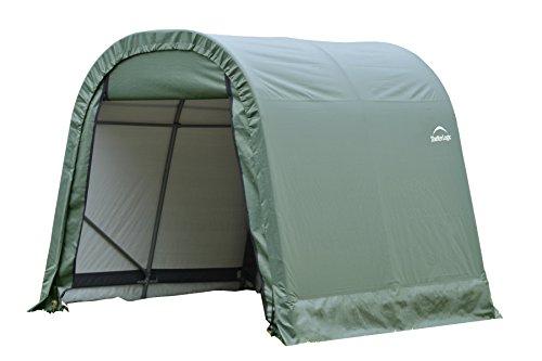 ShelterLogic 76814 Green 8'x12'x8′ Round Style Shelter For Sale