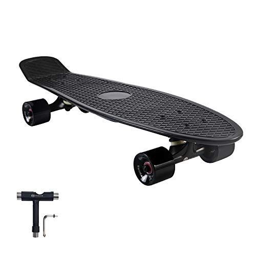 WHOME Skateboard Complete for Adults and Beginners – 27 Inch Cruiser Skateboard Complete for Cruising Commuting Rolling Around T-Tool Included