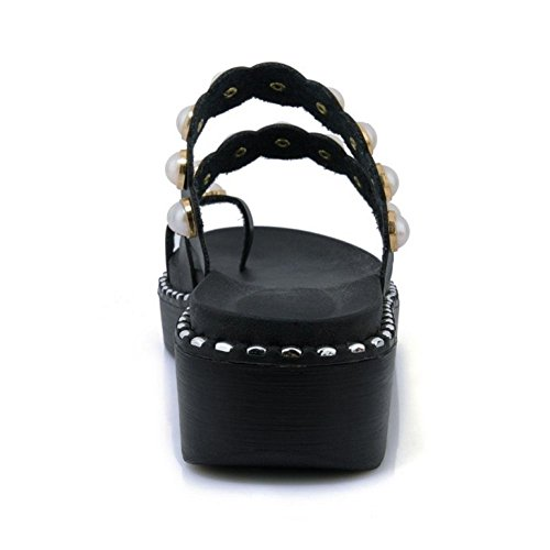 Way black 2 Dolce Flatform 4 Sandli Zanpa Donna wavUqCW0IX