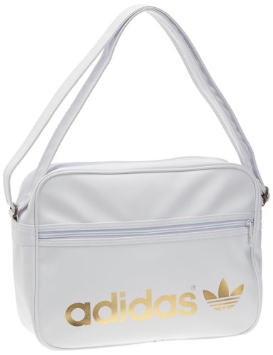 adidas AC Airliner Bag Tasche White-Metallic Gold - NS