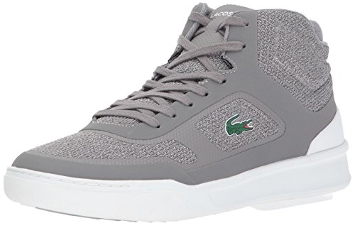 Lacoste Men's Explorateur Spt Mid 317 2 Sneaker, Gray, 10.5 M US